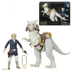 Star Wars The Black Series Hoth Han Solo Action Figure with Tauntaun
